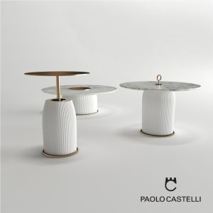 3d Model Tables Dione Coffee From Paolo Castelli - Design By Paolo Castelli