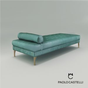 3d Model Chaise Longue Elegance From Paolo Castelli - Design By Paolo Castelli