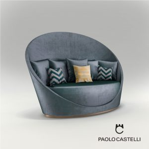 3d Model Sofa Petalo From Paolo Castelli - Design By Giampiero Peia