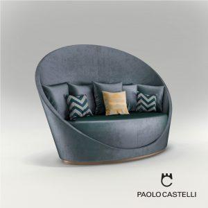 3d Model Sofa Petalo From Paolo Castelli - Design By Giampiero Peia