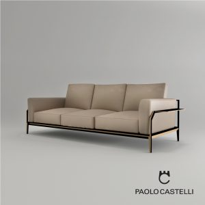3d Model Sofa Victor From Paolo Castelli - Design By Paolo Castelli