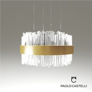 3d Model Chandelier My Lamp Suspension R100 From Paolo Castelli - Design By Paolo Castelli