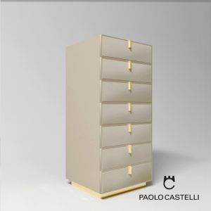 3d Model Chest Of Drawers 7 Fine Collection From Paolo Castelli - Design By Paolo Castelli - R&D Team