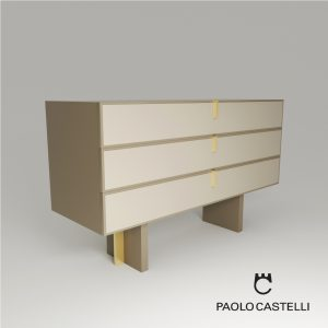 3d Model Chest Of Drawers 3 Fine Collection From Paolo Castelli - Design By Paolo Castelli - R&D Team