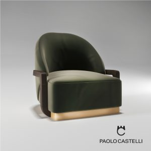 3d Model Armchair Lady Peacock From Paolo Castelli - Design By Cristiano Gatto