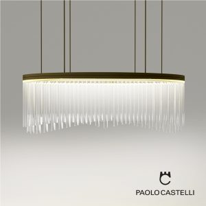 3d Model Chandelier Wave From Paolo Castelli - Design By Paolo Castelli