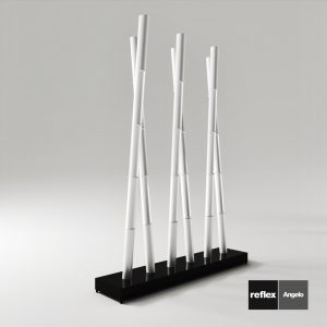 3d Model Floor Lamp Bamboo From Reflex Angelo - Design By Reflex