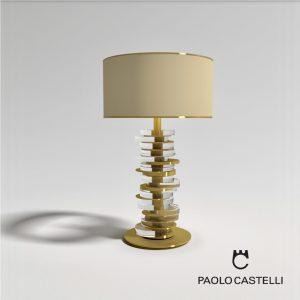 3d Model Table Lamp Ambra From Paolo Castelli - Design By Ilaria Balduino Sartori