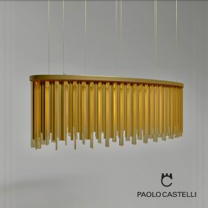 3d Model Chandelier Venus Oval From Paolo Castelli - Design By Paolo Castelli