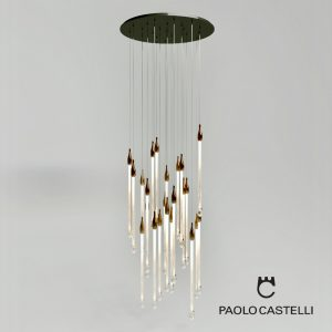 3d Model Chandelier Allure Round From Paolo Castelli - Design By Paolo Castelli
